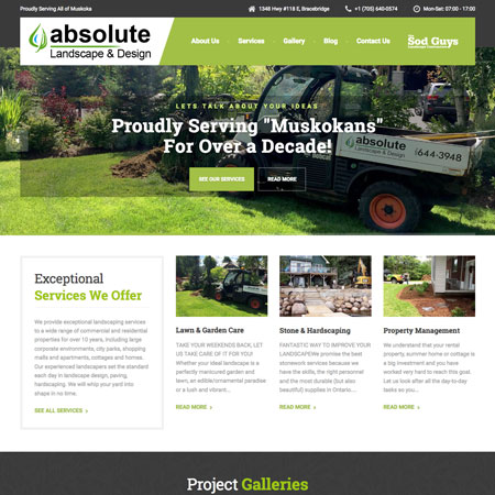 Absolute Landscaping Bracebridge